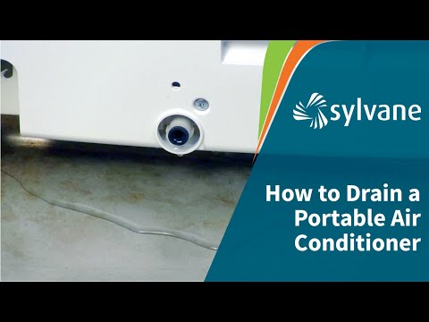 How to Drain a Portable AC: Fully vs. Partially Evaporative | Sylvane