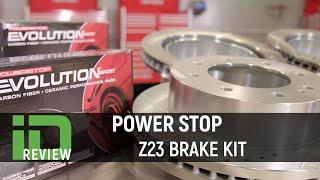 Power Stop Z23 Brake Kit Review