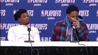 DeMar DeRozan &  Kyle Lowry Postgame Interview / Raptors vs Wizards Game 3