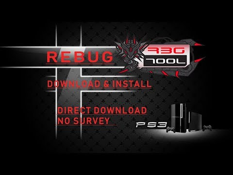 Download & Install Rebug (CFW) v4.81.2 in PlayStation 3 Console