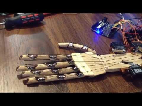 Arduino Robot Hand - for under $300 complete