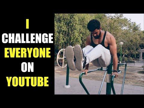 Fitness Challenge To All YOUTUBERS | Nikhil Nautiyal Fitness