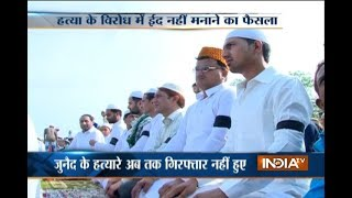 Ballabgarh: Eid with black arm bands as protest against Muslim lynchings