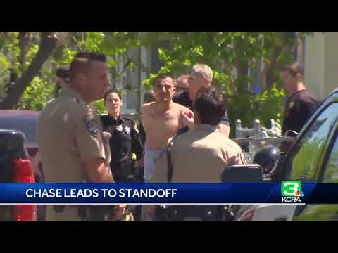 Man arrested after chase, standoff in Sacramento