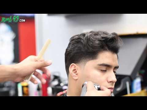 Barber Tutorial | Mens Scissor cut with FLOW