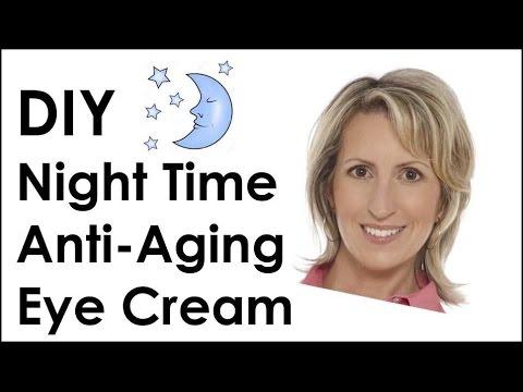 DIY EYE CREAM - ANTI-AGING FOR NIGHT TIME