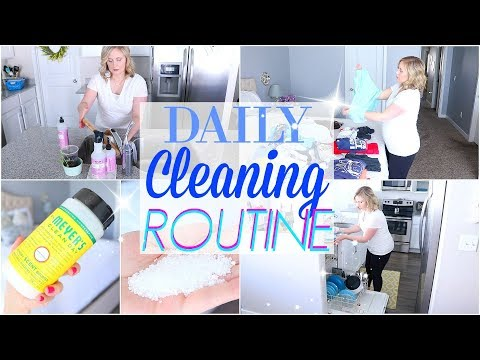 DAILY CLEANING ROUTINE| HOW TO ALWAYS HAVE A CLEAN HOUSE
