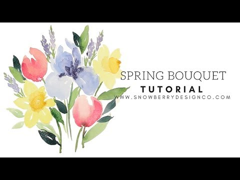 Spring Bouquet Tutorial