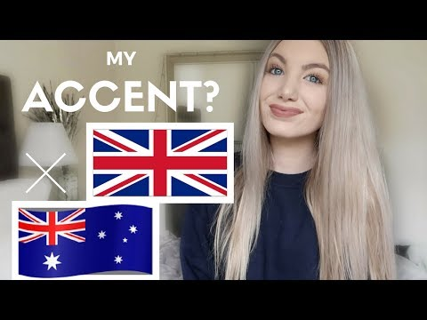 MY ACCENT? | British/ Australian Accent Tag