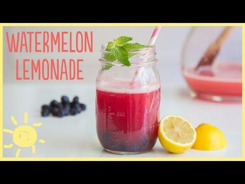 EAT | Watermelon Lemonade (made with Honey)