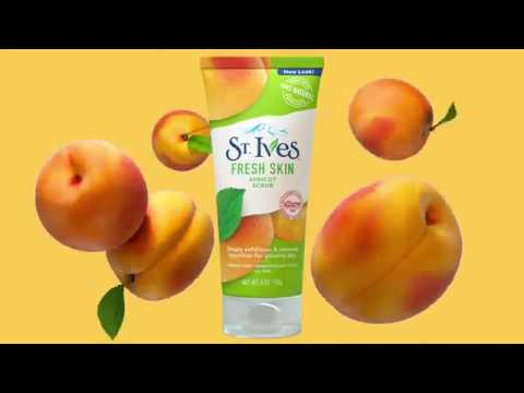 Get That Deep Clean: Apricot Face Scrub | St. Ives
