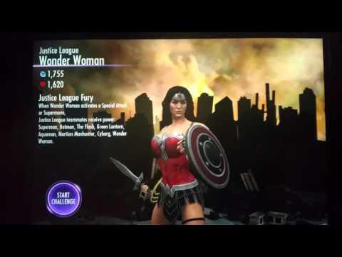 Injustice Mobile Justice League Wonder Woman Challenge