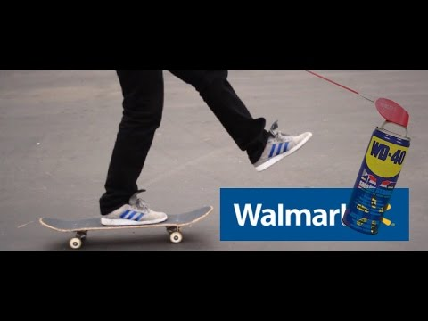How to Make Your Wheels Roll Faster (Walmart Skateboard)