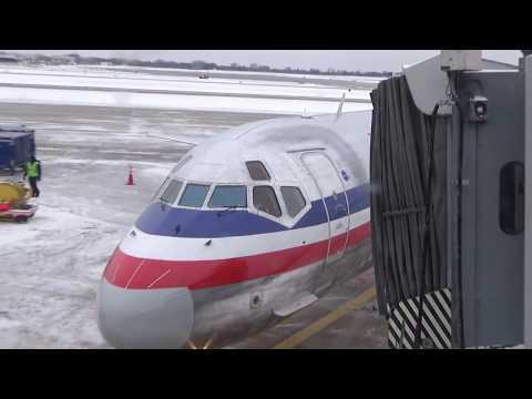 American Airlines MD-80 KMSP-KORD Full Flight