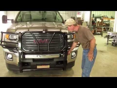 Frontier Grille Guard 2015-17 GMC, 2500& 3500 Installation