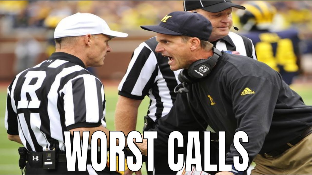 Worst Calls in College Football History    Part 2