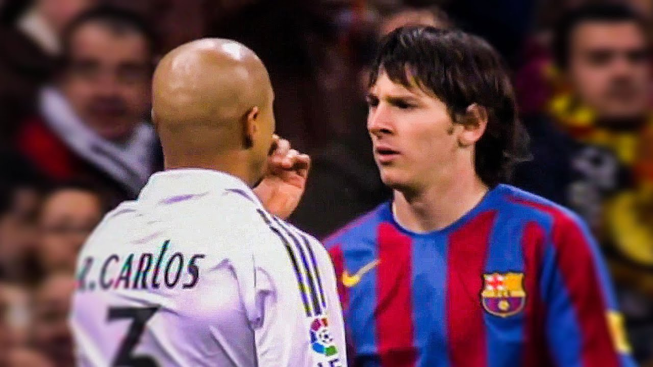 Real Madrid Legends Will Never Forget YOUNG Lionel Messi ● 2005-2009