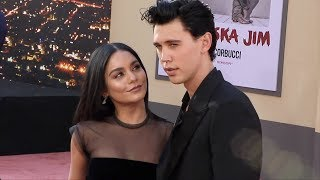 """Vanessa Hudgens and Austin Butler """"Once Upon a Time in Hollywood"""" World Premiere Red Carpet"""