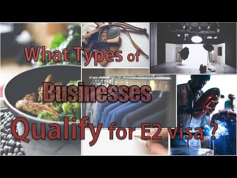 Does Your Business Qualifies for the E-2 Visa?