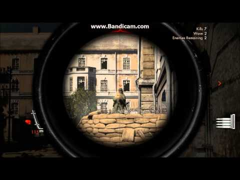 Sniper Elite V2 music video skillet