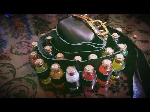 Tutorial DIY steampunk belt whit bottle