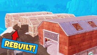 We REBUILT DUSTY DEPOT in Fortnite Battle Royale
