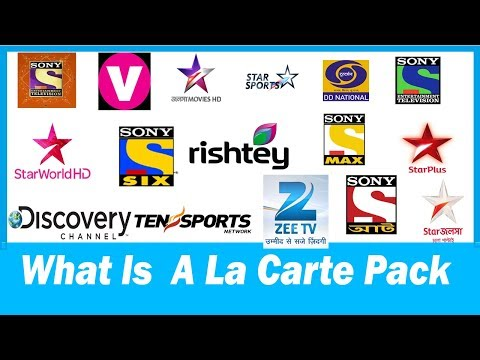 A La Carte Pack/Ala Carte pack Kya Hota Hai?