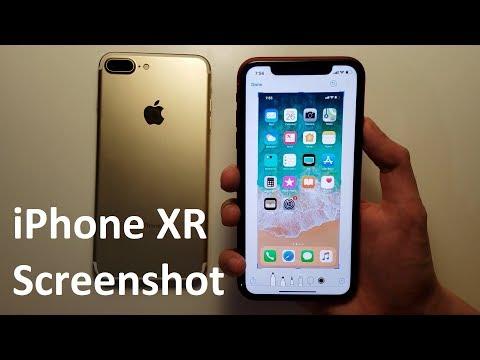 iPhone XR How to Screenshot!