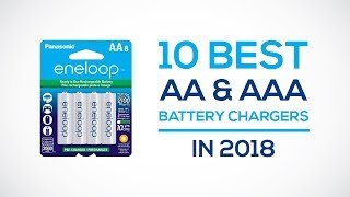 10 Best AA & AAA Battery Chargers Reviews
