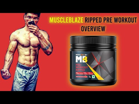 Muscleblaze Ripped Pre workout | MUSCLEBLAZE PREWORKOUT RIPPED | Cheapest PREWORKOUT Supplement