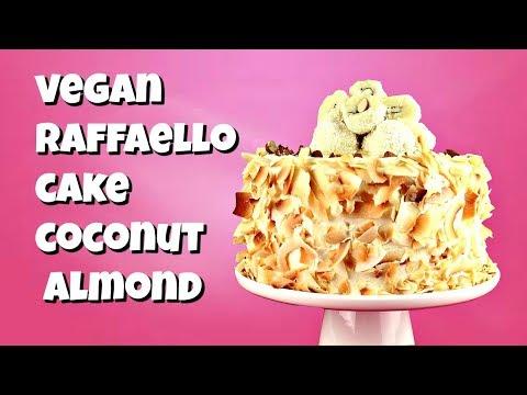 Vegan Raffaello Cake || Gretchen's Bakery