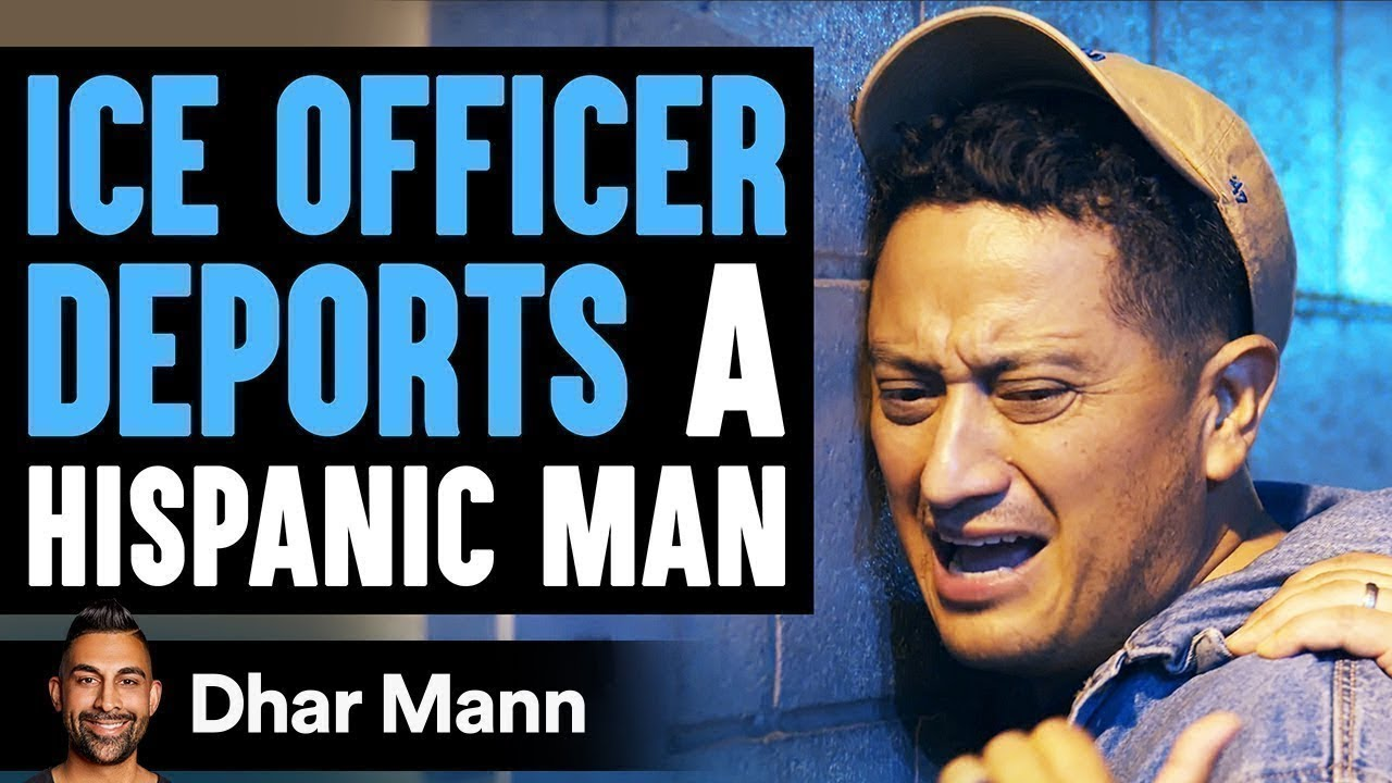 Officer Deports Hispanic Man, Realizes It Was A Huge Mistake   Dhar Mann