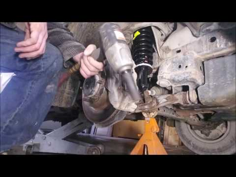 How to: 04 Toyota Tundra Shock and Strut Replacement!