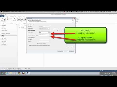 SmarterGeek - Outlook 2013 - Bellsouth ATT (AT&T) Yahoo IMAP
