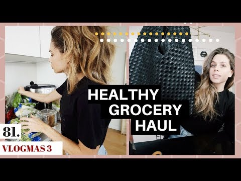 Surprised by a Package + Grocery Store Haul   VLOGMAS DAY 3