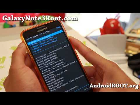 How to Install Custom ROM on rooted Galaxy Note 3!
