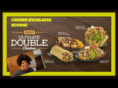 El Pollo Loco Ultimate Double Chicken Enchiladas REVIEW!