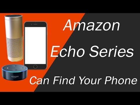 Amazon Echo or Echo Plus - How to Find Your Lost Phone