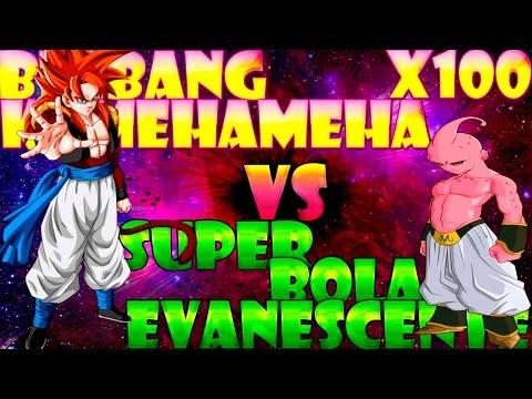 Bigbang Kamehameha x100 vs Super Bola Evanescente | Dragon Ball Xenoverse