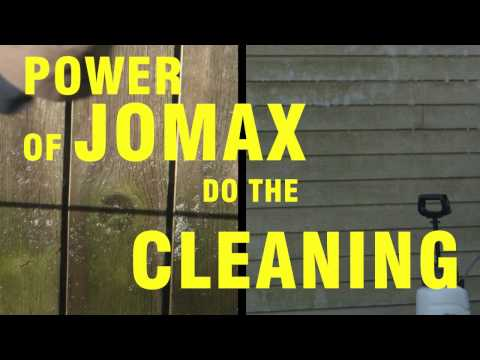 Clean Mold, Mildew & Algae Quickly with Jomax Spray Once