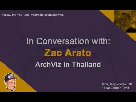 ArchViz in Thailand with Zac Arato