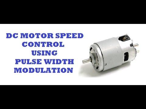 PWM : DC MOTOR SPEED CONTROL