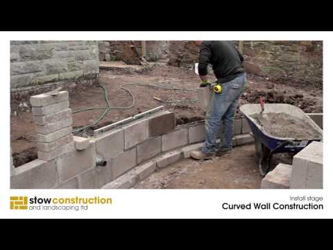 North Berwick Case Study #3 - Curved Wall Construction