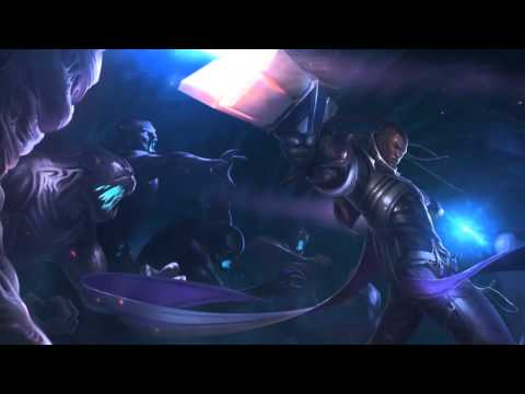 Lucian Login Screen Lore and Character Loop