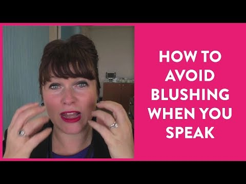 TIP   How to Avoid Blushing When You Speak
