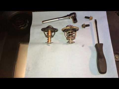 Replacing a coolant thermostat on a 2003-2007 Hyundai Sonata
