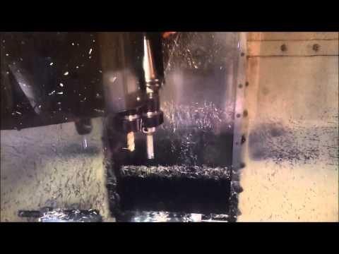 Machining Bearing Blocks in Haas VF0