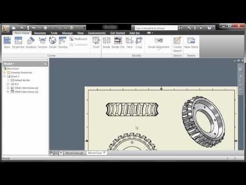 Autodesk Inventor Fundamentals - Basics of Drawing Creation Chapter 1