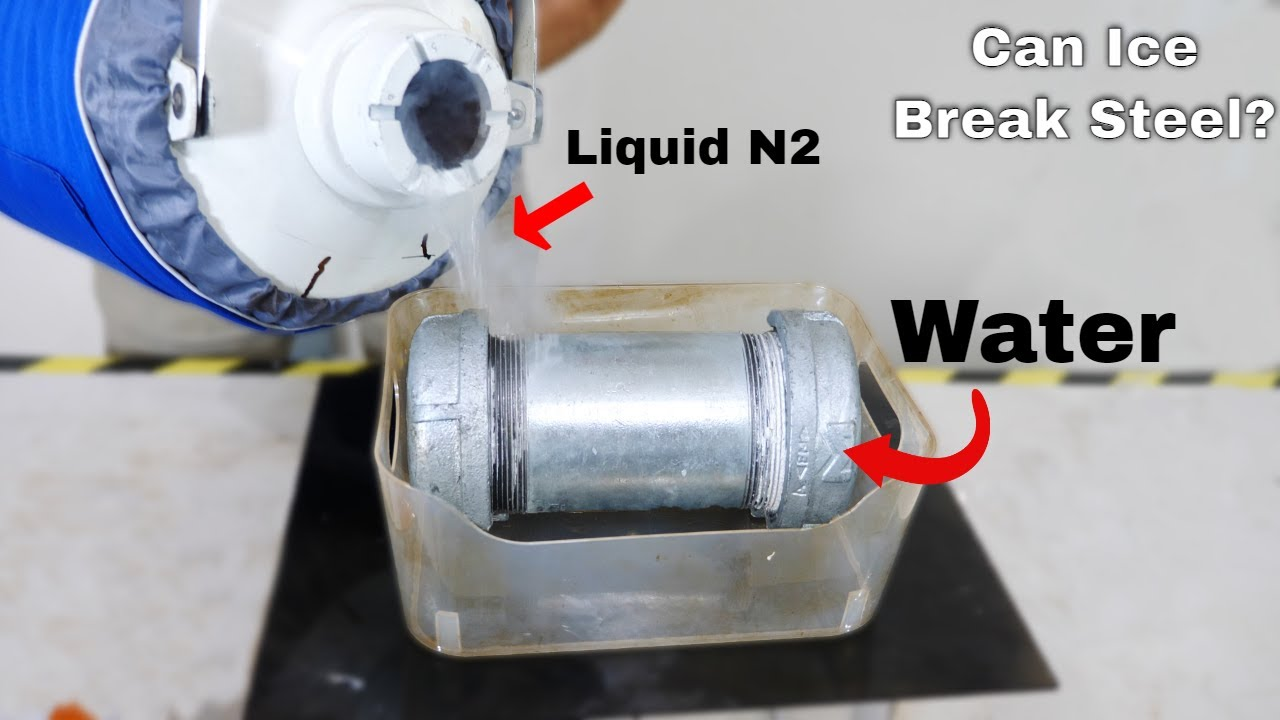 Can You Stop Water From Expanding When It Freezes Into Ice?