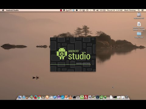 Twenty Minute Tutorial : Android Studio Install on Mac OS X